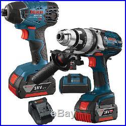 18V 2-Tool Combo Kit Bosch Tools CLPK222-181 New