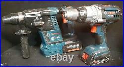 18V BOSCH GBH18V-26 SDS Rotary + HAMMER DRILL HGH181X + 4 AH &1.5AH Batteries