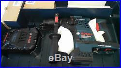 1-1/8 SDS-Plus 36v Cordless Rotary Hammer Drill Battery Kit Var Speed RH328VC-36