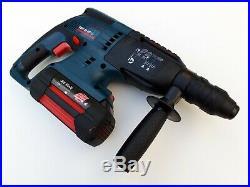 1x BOSCH GBH 36VF-LI Hammer Drill + 1x Battery 36v 2.6Ah Li-Ion
