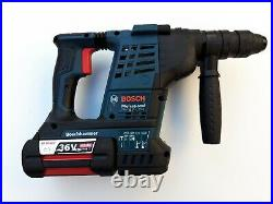 1x BOSCH GBH 36VF-LI Plus Hammer Drill + 1x Battery 36v 4.0Ah Li-Ion