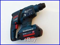 1x BOSCH GBH 36V-EC Compact Hammer Drill + 1x Battery 36v 1.3Ah Li-Ion