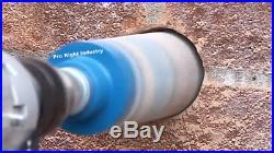 2 1/2'' core bit fits hilti dewalt bosch sds max adapter 4 hammer drill with pilot