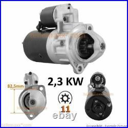 2,3 KW 11. Z Anlasser für KHD Deutz F2L1011 F3L1011 F4L1011 0001218172 0001223002