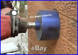 2.5'' dry core bit with center guide sds plus hammer drill hilti bosch 2 1/2'
