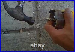 2'' core bit fits hilti bosch milwaukee sds max adapter 4 hammer drill with pilot