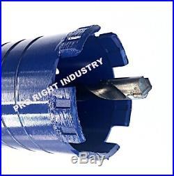 4 1/2'' core bit fits hilti dewalt bosch sds max adapter 4 hammer drill with pilot