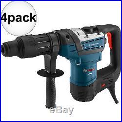 4pk 1-9/16 SDS MAX Rotary Hammer Drill RECON Bosch Tools RH540M