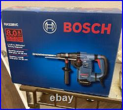 8 Amp Corded Variable Speed SDS-Plus Concrete Masonry Rotary Hammer Drill & Case