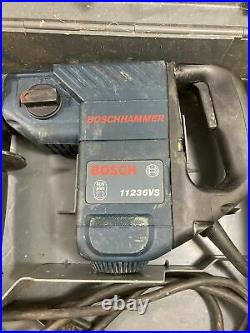 BOSCHHAMMER Drill Corded SDS-Plus Concrete/Masonry Rotary Hammer With Bits