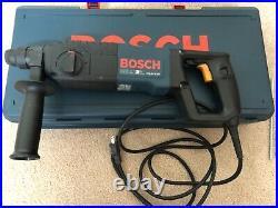 BOSCH 11224 SDS-Plus Rotary Hamr Drill Kit, 7.5A@120V