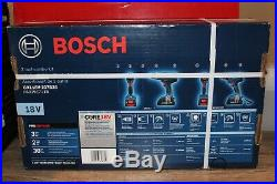 BOSCH 18V Hammer Drill & Impact Driver COMBO KIT GXL18V-237B25! SEALED