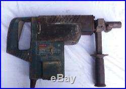 BOSCH 1-1/2 ROTARY HAMMER DRILL 11244E with Box & 3 Drill Bits- WORKS GREAT
