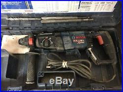 BOSCH BULLDOG XTREME In Case 11255VSR Rotary Hammer Drill