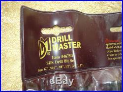BOSCH Boschhammer SDS Plus Rotary Hammer Drill Set 11236VS Case Extra Drill Bits