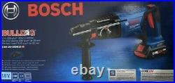 BOSCH Bulldog 18V Cordless Rotary Hammer Drill Battery + Charger GBH18V-26DK15