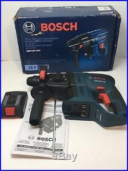 BOSCH Cordless GBH18V-20N -18V 3/4 In. SDS-plus Rotary Hammer Drill With 2 Ah Batt