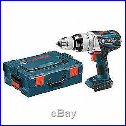 BOSCH Cordless Hammer Drill/Driver, 1/2 In. Dr, HDH181BL
