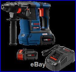 BOSCH GBH18V-26K24 18V EC Brushless SDS-plus Bulldog 1 In. Rotary Hammer Kit