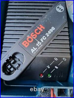 BOSCH GBH24VFR SDS PLUS CORDLESS HAMMER DRILL 2x QUICK RELEASE CHUCKS & BATTERY