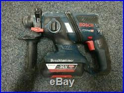 BOSCH GBH36V-EC COMPACT 36V Li-ion SDS+ PLUS HAMMER DRILL & 1X BATT 2.0AH Only