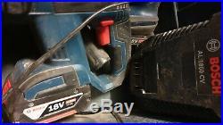 BOSCH GBH 18V-EC BRUSHLESS, GSB 18 VE-2-LI Combi Hammer Drill, GDR 18V-Li driver