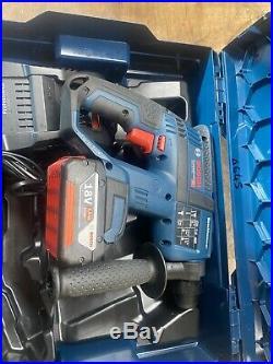 BOSCH GBH 18 V-EC SDS plus 3 function hammer drill 5.0ah Gal 1880 Cv T645
