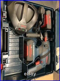 BOSCH GBH 36 V-LI SDS Compact Professional Cordless Hammer Drill 2×batteries