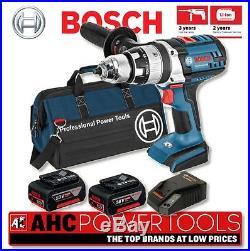 BOSCH GSB18 VE2-LI 18V Robust Series Combi Drill Kit (2 x 4.0ah Li-ion)