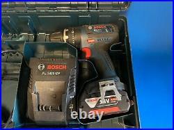 BOSCH GSB 18 V-LI HAMMER DRILL SET 1x4AH BATTERY CASE AND CHARGER