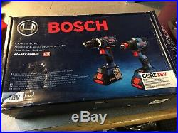 BOSCH GXL18V-251B25 2 Tool Combo Kit Hammer Drill Driver + Impact Driver
