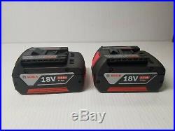 BOSCH HDH181X 1/2 HAMMER DRILL 18V & 25618 1/4 18V IMPACT WithBATT AND CHARGER