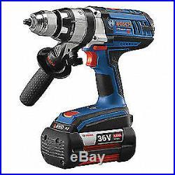 BOSCH Hammer Drill/Driver, 36.0V, 1/2 Chuck Sz, HDH361-01
