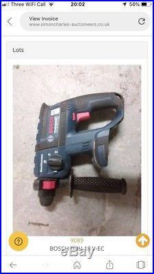 BOSCH Hammer drill battery GBH 18 V-EC 0611904003
