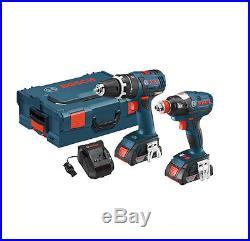 BOSCH Power Tools CLPK250-181L 18V Brushless 2-Tool Kit with Hammerdrill & Driver