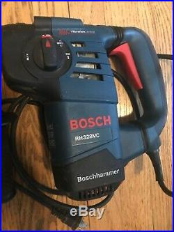 BOSCH RH328VC 1-1/8 Corded Electric Variable Speed SDS-Plus Rotary Hammer Drill