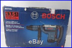 BOSCH RH745 SDS Rotary Hammer, 120V, 13.5A