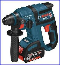 BOSCH RHH181-01 Cordless Rotary Hammer Drill Kit, 18V, SDS