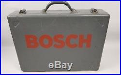 Bosch 11232EVS Heavy Duty Rotary Variable Hammer Drill 8.8 Amp Bits Bosch Case