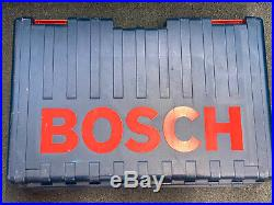 Bosch 11241EVS Rotary Corded Hammer Drill With Case And Bits