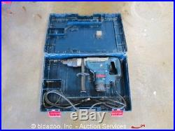 Bosch 11247 Combination Rotary Hammer Drill 1-9/16 Electric 120V withCase bidadoo