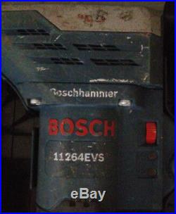 Bosch 11264EVS 5/8 Corded Rotary Hammer Drill With 2 Bits