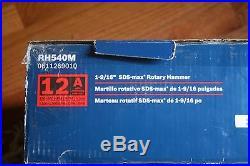 Bosch 12 Amp 1-9/16 SDS-Max Combination Rotary Hammer Drill RH540M - BRAND NEW