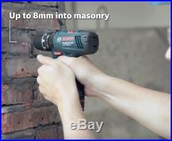 Bosch 12v Lithium GSB Combi Hammer Drill GSB 120-LI + 2 x 1.5ah Batteries
