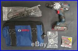 Bosch 18V 1/2 Hammer Drill / Driver Tool Kit GSB18V-755CB25