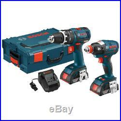 Bosch 18V Li-Ion BL Hammer Drill/Impact Kit CLPK250-181L Recon