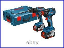Bosch 18v Brushless Combi GSB 18 V-55 Wrench GDX 18 V-200 Twin Pack 06019J2270