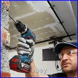 Bosch 18v GSB18V-60C Brushless Combi Hammer Drill GSB18V60C Metal Chuck + Lboxx