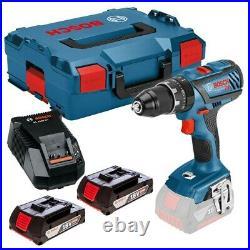 Bosch 18v GSB18 V-28 Professional Combi Hammer Drill Metal Chuck 2 x 2.0ah