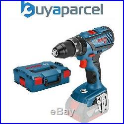 Bosch 18v GSB18 V-28 Professional Combi Hammer Drill Metal Chuck + LBOXX Case